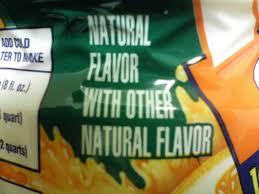 natural flavors